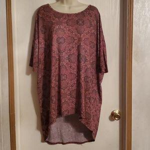 LULAROE Women's Beautiful Blouse, Size XL
